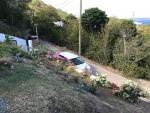 Garden under development