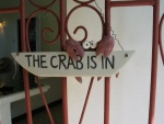 The crab is in!